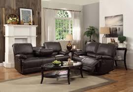 reclining sofa and loveseat set homelegance 2pcs cassville dark brown double reclining sofa set 8403 sl