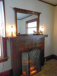 mirror over the fireplace rving the usa is our big backyard