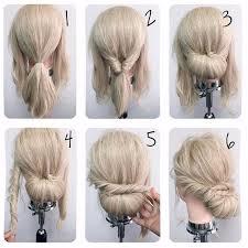 easy hairstyles for waitress s идеальная прическа на каждый день hair nails makeup