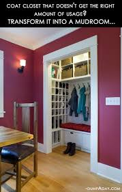 Ideas For Shoe Storage In Entryway Best 25 Entryway Closet Ideas On Pinterest Closet Bench Closet