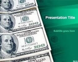 free financial piggy bank powerpoint template