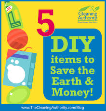 five items you can make at home to save the earth and money