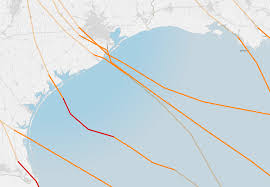 Map Of Spring Texas Maps Tracking Harvey U0027s Destructive Path Through Texas And