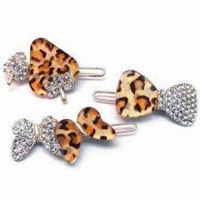 china designs china fancy metal hair clips decorated with diamonds resin designs