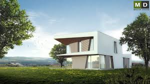 luxury low energy house with a strong shading beroun master