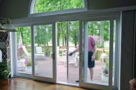 Backyard Sliding Door Remarkable Double Sliding Glass Patio Doors With Four Panel