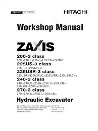 excavadora hidraulica hitachi zx200 3 workshop battery