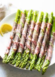 asparagus thanksgiving prosciutto wrapped asparagus recipe simplyrecipes com