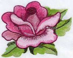 Flower Designs For Embroidery Rose Decoration Free Embroidery Design Http Www Deal Shop Com