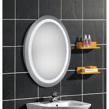 Why Do Bathroom Mirrors Fog Up by Afina Illume Led Backlit Rectangular Bathroom Mirror Hayneedle