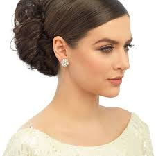 clip on bridal earrings clip on pearl wedding earrings zaphira bridal