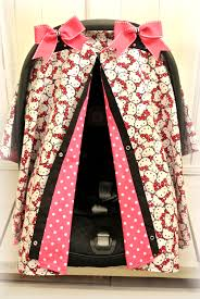 Pink Car Seat Canopy by Looooooooove This This A Must Have Item Hello Kitty Baby