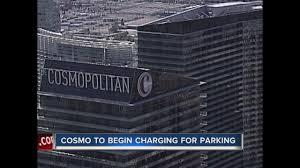 Cosmopolitan Las Vegas Map by Update Paid Parking Begins For Some At Caesars Properties Ktnv