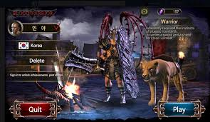 blood apk blood warrior edition 1 2 0 apk android 4 0 x