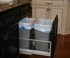 kitchen cabinet garbage can kitchen popular kitchen trash can placement startling kitchen
