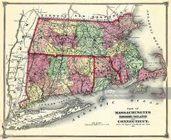 Massachusetts State Map by Connecticut 1874 State Map Connecticut Massachusetts Rhode Island