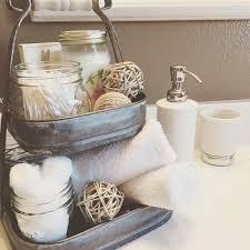 Farmhouse Bathroom Ideas Colors Best 25 Bathroom Counter Decor Ideas On Pinterest Bathroom