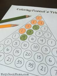 exploring patterns in pascal u0027s triangle free printables