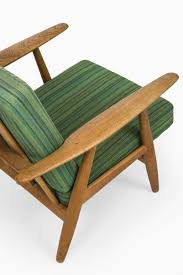 Hans Wegner Plank Sofa Green Cigar Easy Chairs By Hans Wegner For Getama Set Of 2 For