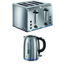 Toaster And Kettle Deals Russell Hobbs 18953 Colours 2 Slice Toaster Cream And 21882