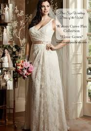 wedding dresses size 18 plus size wedding dress of the week eloise gown from watters