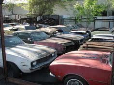 camaro salvage yard 1969 camaro rusted rides barn finds cars and