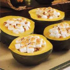mallow pecan acorn squash recipe taste of home