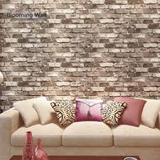 wallpaper for livingroom blooming wall faux rustic tuscan brick wall pattern wallpaper