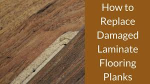 Hardwood Floor Repair Water Damage How To Replace Damaged Laminate Flooring Planks