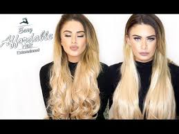 kylie coutore hair extension reviews easy affordable hair extensions koko couture youtube