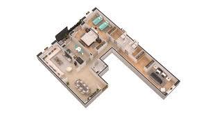 plan appartement 3 chambres appartements les allées fleuries résidences casablanca maroc