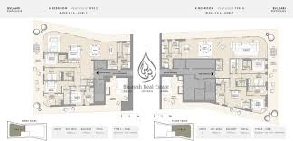 4 bedroom apartment floor plans bulgari residence 1 bedroom apartment type c floor plan