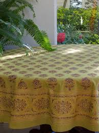 Round Kitchen Table Cloth by Green Tablecloth Indian Tablecloth Asian Tablecloth 90 Round