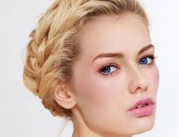 make up hochzeit braut make up für blondinen haarfarbe gibt ton an fem