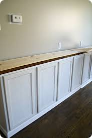 How To Build A Base Cabinet by How To Build Built Ins From Thrifty Decor