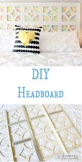 diy vintage sheet headboard kayybaby blogs