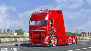 volvo trailer volvo fh750 longline mod for ets 2