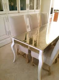 Modern Mirrors For Dining Room by Mirrored Dining Table Big Mirrored Dining Table For Rentwedding