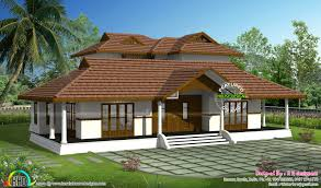 Kerala Home Design Single Floor by Kerala Traditional Home With Plan Nalukettu Plans Single Storey