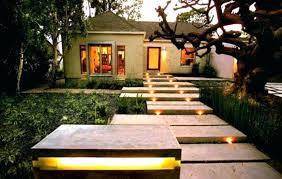 Outdoor Solar Landscape Lights Garden Led Solar Rock Landscaping Lights Set Of 4 Outdoor