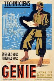 Vichy France Flag Vichy France Army Engineers Recruiting Poster Posters Vichy
