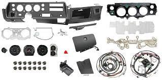 Chevelle Interior Kit 1970 72 Super Sport Dash U0026 Gauge Conversion Kit For Chevelle El