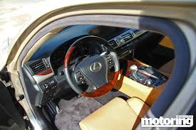 lexus ls interior 2013 lexus ls 460l review motoring middle east car news