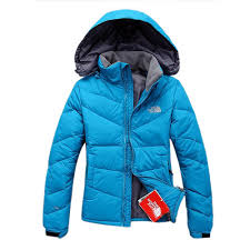 north face women u0027s down jackets blue the north face metropolis
