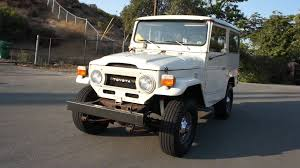 toyota land rover 1970 toyota land cruiser fj40 video 1 owner jeep crawler youtube