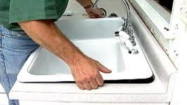 Kitchen Sink Install Easy Kitchen Sink Install Hgtv