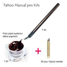 online buy wholesale tattoo manual pen kits from china tattoo