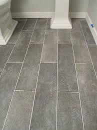 gray plank ceramic tiles similar to kitchen floor