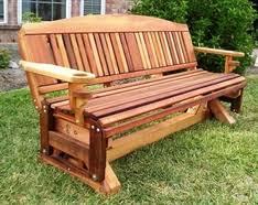 cedar porch swings bench gliders etc made in texas