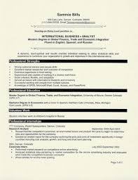 Sample Resume Fresh Graduate Accounting Student by Student Resume Samples